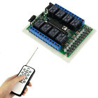 12 Key Controller DC12V 8CH Wireless Remote Control Relay Switch Learning Code