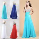 New Summer Long Wedding Evening Cocktail Ball Gown Party Prom Bridesmaid Dress