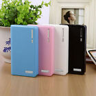 4 Color Dual USB 5V 6x 18650 Battery Power Bank Case Box Charger For Moble Phone