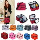 Thermal Cooler Waterproof Insulated Portable Tote Picnic Lunch Bag Travel BBQ