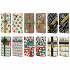 HEAD CASE DESIGNS CHRISTMAS GIFTS LEATHER BOOK WALLET CASE FOR SAMSUNG PHONES 2