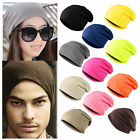 Hot Winter Warm Women/Men Knit Ski Crochet Slouch Hat Cap Beanie Hip-Hop Hats