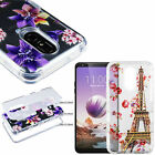For Apple iPhone 6 / 6s TPU CANDY Honeycomb Gel Flexi Skin Case +Screen Guard