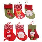 1PC Christmas Decoration Stocking Santa Claus Socks Candy Bag Children Gift LJ