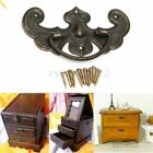 2pcs Vintage Furniture Cupboard Closet Cabinet Door Knobs Drawer Pull Handle S/L