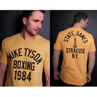 Roots of Fight Mike Tyson Boxing 1984 T-Shirt - Yellow