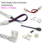 Внешний вид - RGB Single Color Wire Angle Connector Adapter RGB 5050 5630 LED Strip Solderless