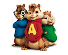 Alvin And The Chipmunks/Chipettes - Edible Icing Image - Cake Topper