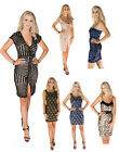 new womens ladies sequin birthday party chrismas occasion bodycon sexy dress