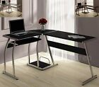 L Shape Corner Computer PC Desk Table Workstation Home Office Furniture