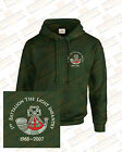 The Light Infantry Regiments Embroidered Crested Hooded Sweatshirts