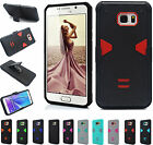 Belt Clip Hard Armor KickStand Shockproof Case Cover For Samsung Galaxy Note 5