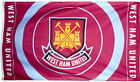 WEST HAM UNITED FLAG 5' x 3' Official WHFC Claret and Blue Circle Football Club