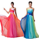 PLUS SIZE 20 22 24 26 Wedding Ball Gown Party Prom Bridesmaid Long Evening Dress