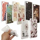 Thin Pattern Paint Soft TPU Gel Silicone Case Cover For Huawei Ascend P8 Lite 5""