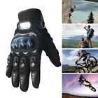 Sports Carbon Fiber Bike Motorcycle Motorbike Racing Mittens Winter Gloves Black
