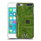 HEAD CASE DESIGNS CIRCUIT BOARDS HARD BACK CASE FOR APPLE iPOD TOUCH MP3