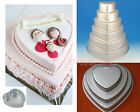 7 Sizes 3D Heart Cake Pan Tins Chocolate Jelly Baking Muffin Party Wedding Mold