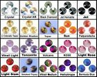 RIVOLI ROUND SEW ON SWAROVSKI RHINESTONE JEWELS