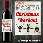 PERSONALISED FUNNY WINE BOTTLE LABEL BIRTHDAY CHRISTMAS GIFT ADULT HUMOUR New* i