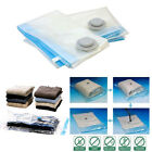 3X Space Saving Large Travel Vacuum Bags Jumbo Clothes Storage Hoover Reusable