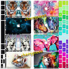 Assorted Animal Painted Hard Case Keyboard Cover For Macbook Pro 13 15 Air 11 12