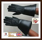 PIPER DRUMMER LEATHER GAUNTLETS - GLOVES  Band Real leather Gloves