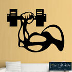 Fitness Gym Weights Workout Inspiration Wall Art Stickers Decals Vinyl Home Room