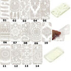 Ultra thin Henna Flower Paisley Tribal Damask Soft Case Cover For Smart Phone