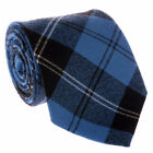New Scottish Tartan Wedding Mens Kilt 8 Yard Polyviscose in Ramsay Blue Ancient