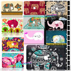 For Mac Macbook 11/12/13/15 inch Laptop Shell ELEPHANT Painted Hard Cases Covers
