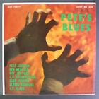 PETE JOHNSON: Pete's Blues LP (flat oxblood label, neat clear taped seams)