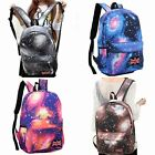 Women's Galaxy Space Starry Backpack Rucksack School Bag Travel Bookbag Satchel
