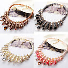2016 New Women Pearl Charm Retro Chunky Statement Bib Choker Necklace Gifts
