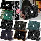 Black Physics Formulas Painted Hard Case Cover For Macbook Pro 13 15 Air11 12+KB