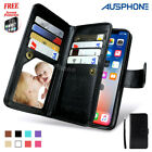 Magnet Leather Wallet Card Slot Case Cover for Apple iPhone 7 Plus 7 6S 6