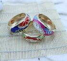Cloisonne Bangles Enamel Bracelets Mixed colors and designs FREE SHIPPING