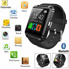 Classic Black Smart U8 Bluetooth Wrist Watch Phone Mate For Android IOS Samsung