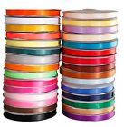 "satin ribbon 25-100yds 5/8"" colourful ribbon decoration for party HH1"