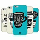 HEAD CASE DESIGNS CAFFEINOMANI COVER MORBIDA IN GEL PER APPLE iPHONE TELEFONI