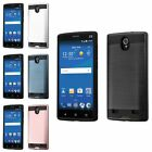 For ZTE ZMax 2 Z958 Slim Hybrid Brushed Rubber Hard Protector Case Cover