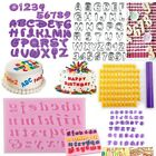 Alphabet Letter Number Cake Fondant Decor Biscuit Cookie Cutter Birthday Mold AU