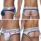 Mens Sexy Boxer Briefs Jock Strap Open Butt Male Underpants Underwear M L XL Hot