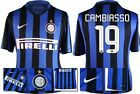 *15 / 16 - NIKE ; INTER MILAN HOME SHIRT SS / CAMBIASSO 19 = SIZE*