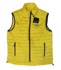 Polo Ralph Lauren RLX Mens Solid Yellow Down Feather Lined Vest Jacket New XL