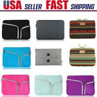 "11-15.6""Inch Laptop Sleeve Case Bag Pouch Cover For MacBook Pro/Air HP Dell Acer"