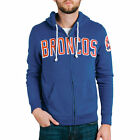 Denver Broncos Junk Food Sunday Full-Zip Hoodie - Royal - NFL