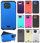 For Kyocera Hydro Air C6745 HARD Astronoot Hybrid Rubber Silicone Case Cover