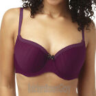 Panache Cleo Maddie Moulded Balcony T Shirt Bra Burgundy 7201 NEW Select Size