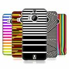 HEAD CASE DESIGNS DYNAMIC STRIPES HARD BACK CASE FOR HTC PHONES 2